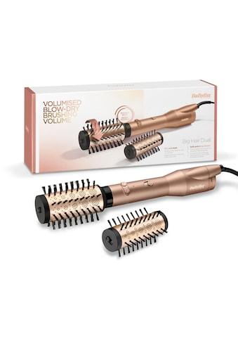 BaByliss Warmluftbürste »AS952E«, 2 Aufsätze}, Big Hair Dual, Rotierend, mit 650 Watt kaufen
