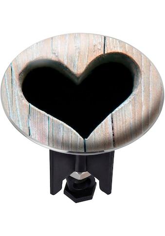 WENKO Waschbeckenstöpsel »Heart«, PLUGGY XL kaufen