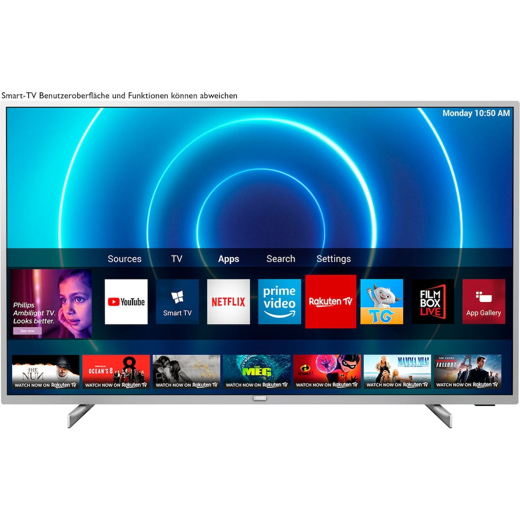 "Philips LED-Fernseher »58PUS7555«, 146 cm/58 "", 4K Ultra HD, Smart-TV"