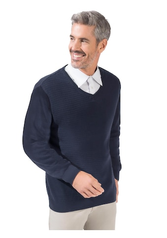 Marco Donati Pullover in Feinstrick mit ansprechender Struktur vorne und hinten kaufen