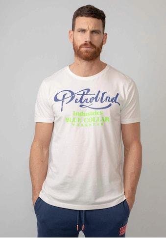 Petrol Industries T-Shirt, mit Markenprint kaufen