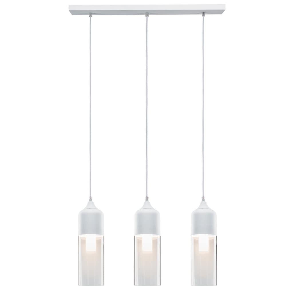 Paulmann LED Pendelleuchte »Neordic Vanja Glas/Weiß«, E27, 1 St.