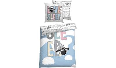 Kinderbettwäsche »Love Sleep«, Shaun das Schaf kaufen