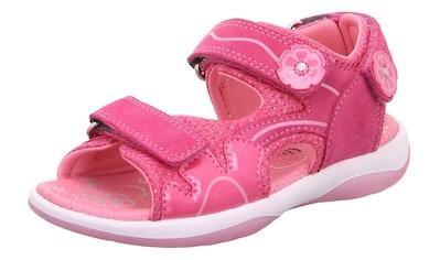 Superfit Sandale »Sunny WMS Weiten-Messsystem: mittel«, mit 3-fach Klettverschluss kaufen