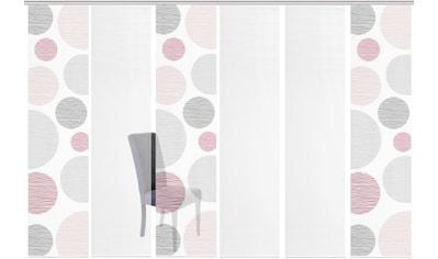 Vision S Schiebegardine »6ER SET BORDEN«, HxB: 260x60, Schiebevorhang 6er Set Digitaldruck kaufen