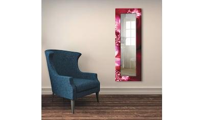 Artland Wandspiegel »Girlande aus Blumen«, gerahmter Ganzkörperspiegel mit... kaufen