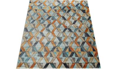 Teppich, »Jazz 701«, Paco Home, rechteckig, Höhe 14 mm, maschinell gewebt kaufen