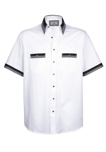Roger Kent Hemd mit Kontrast - Details kaufen