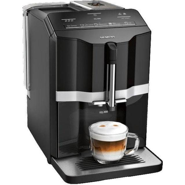 SIEMENS Kaffeevollautomat EQ.300 TI351509DE, 1,4l Tank, Scheibenmahlwerk