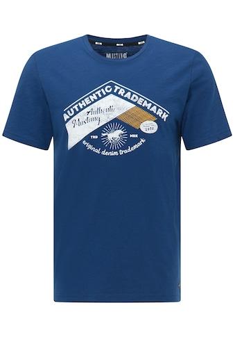 MUSTANG Kurzarmshirt »Alex C Print« kaufen