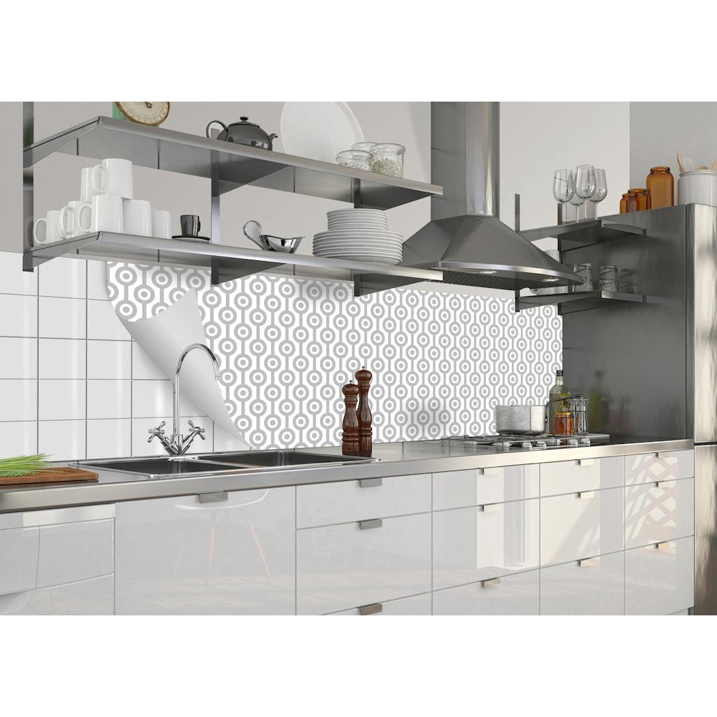 MySpotti Küchenrückwand »fixy Theo«, selbstklebende und flexible Küchenrückwand-Folie