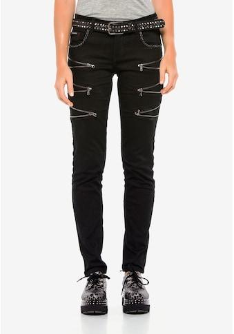Cipo & Baxx Slim - fit - Jeans »Blink« kaufen