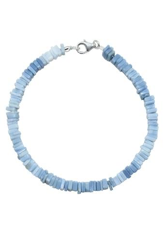 Firetti Armband »Steinstrang eckig, schimmernd, 4 mm breit«, mit Opal, Made in Germany kaufen