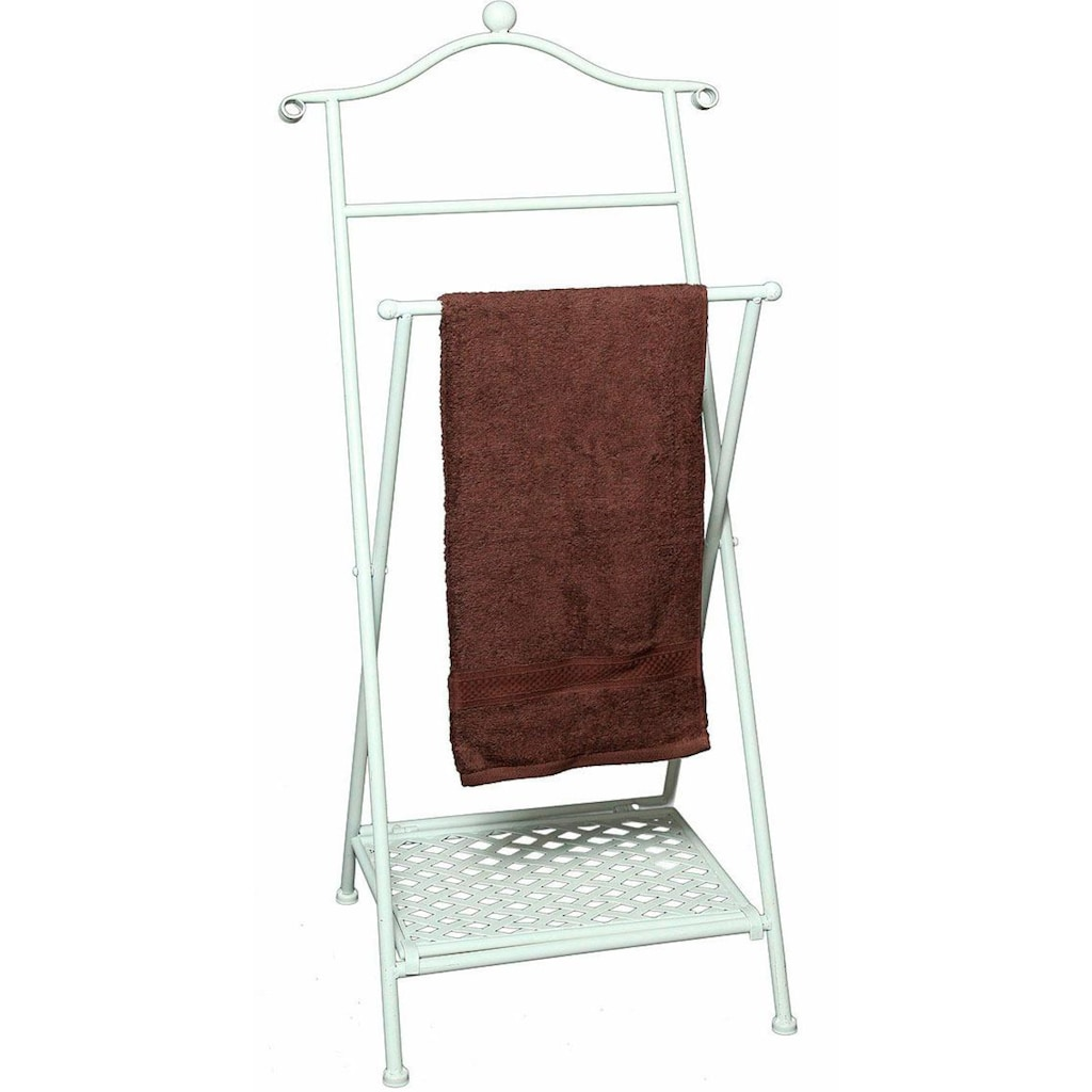 Ambiente Haus Handtuchhalter »Antik«, antikweiß