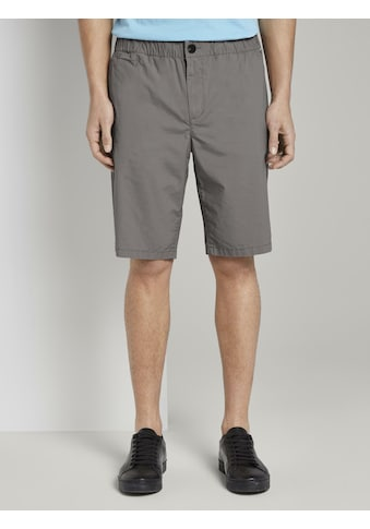 TOM TAILOR Shorts »Morris Relaxed Chino-Shorts mit elastischem Bund« kaufen