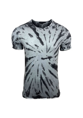 Rusty Neal T - Shirt mit coolem Allover - Print kaufen