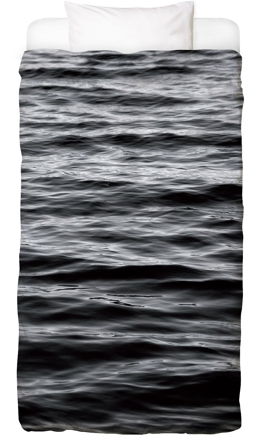 Bettwäsche Black Ocean Juniqe
