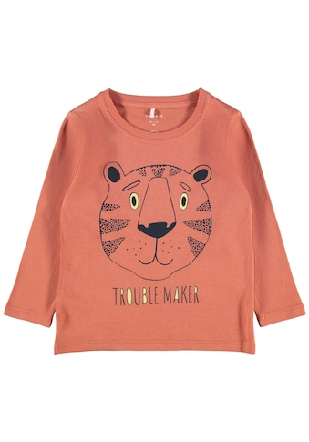 Name It Langarmshirt »TROUBLE MAKER« kaufen