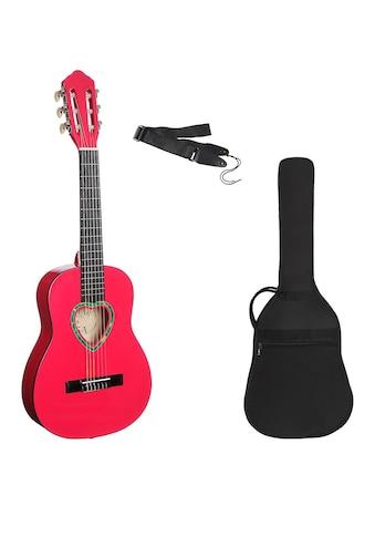 Konzertgitarre »Konzertgitarre ¼ mit herzförmigem Schallloch«, 1/4 kaufen