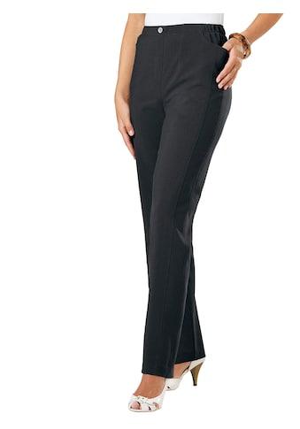 Classic Basics Hose mit einem Zier - Metallknopf kaufen