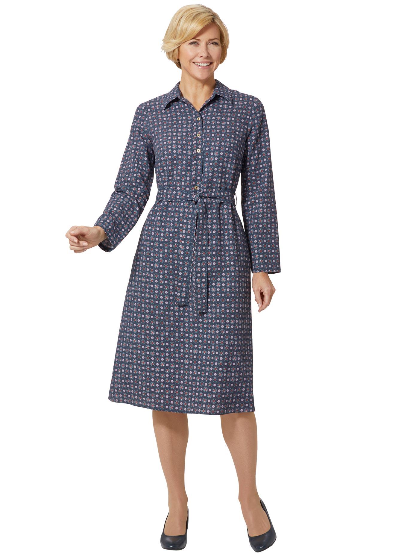 Classic Basics Kleid mit Umlegekragen
