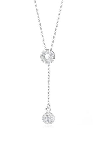 Elli Collierkettchen »Y-Kette Kristalle 925 Sterling Silber« kaufen