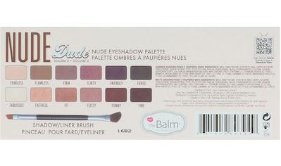 theBalm Lidschatten-Palette »Nude Dude Eyeshadow Palette« kaufen
