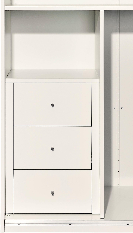 Now! By Hülsta now by hülsta Schubladeneinsatz, mit 3 Schubladen für den Schrank slide weiß Schubladeneinsatz Zubehör Kleiderschränke Möbel