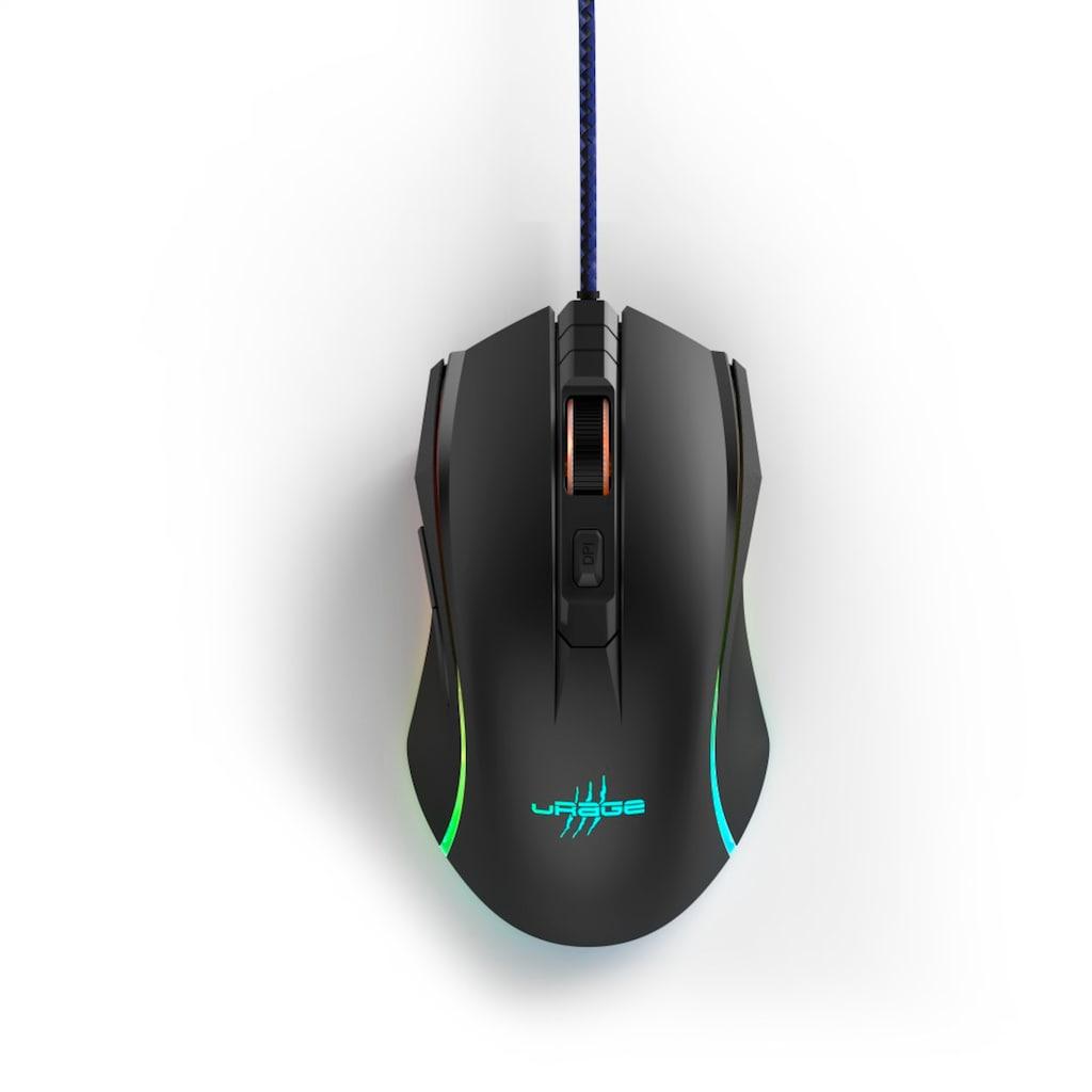uRage Gaming-Maus, kabelgebunden-USB