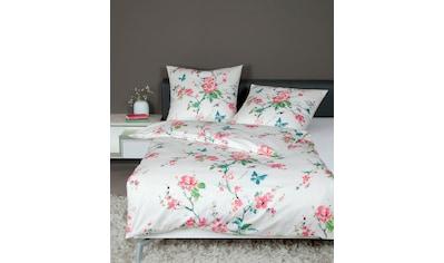 Janine Bettwäsche »moments 98050«, mit floralem Muster kaufen