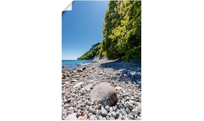 Artland Wandbild »Steine an der Ostseeküste Insel Rügen«, Küstenbilder, (1 St.), in... kaufen
