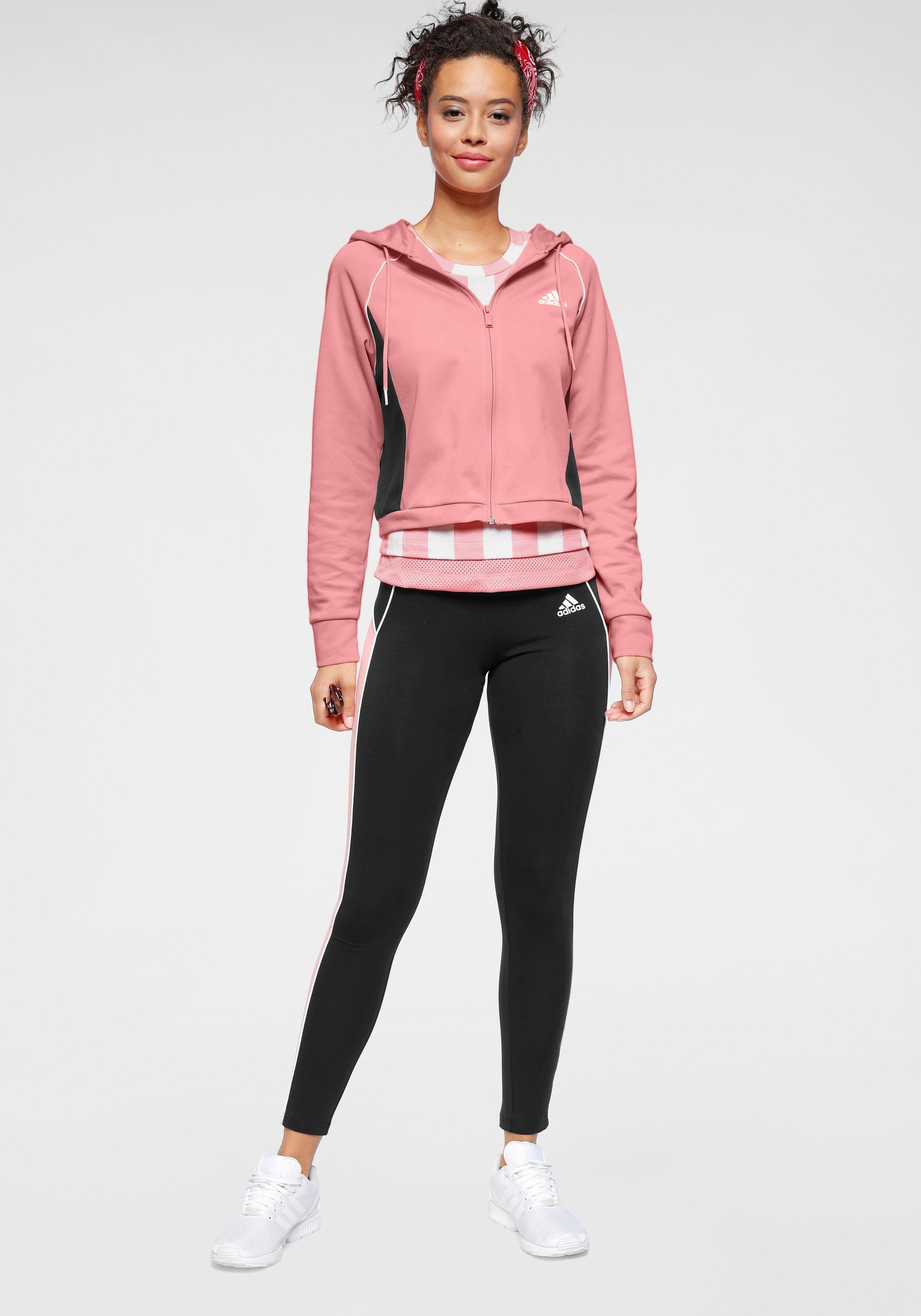 adidas Performance Jogginganzug TRACKSUIT HOODY & TIGHT   Sportbekleidung > Sportanzüge > Jogginganzüge   adidas performance