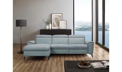 Places of Style Ecksofa »Theron«, elektrische Relaxfunktion, USB-Anschluss, manuelle... kaufen