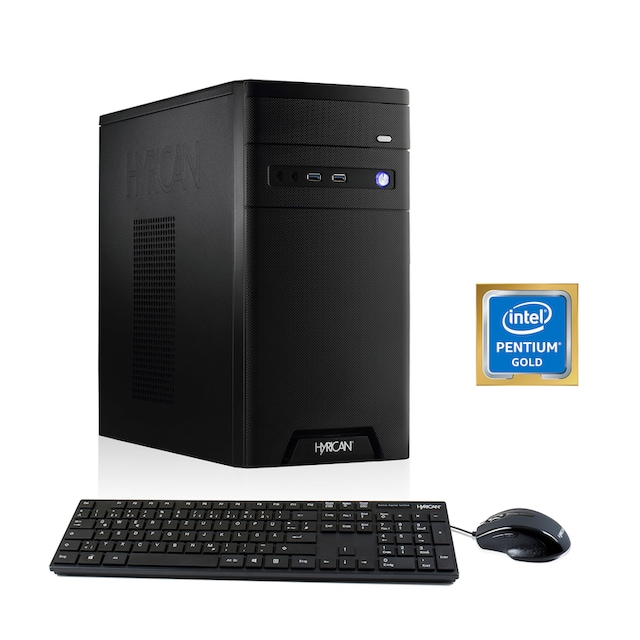 Hyrican Home-Office PC Pentium G5400 8GB 120GB 1TB »Home-Office 6341«