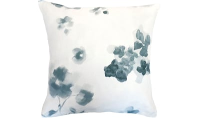 fleuresse Kissenbezug »Provence Cassis«, (2 St.), Aquarellblüten kaufen