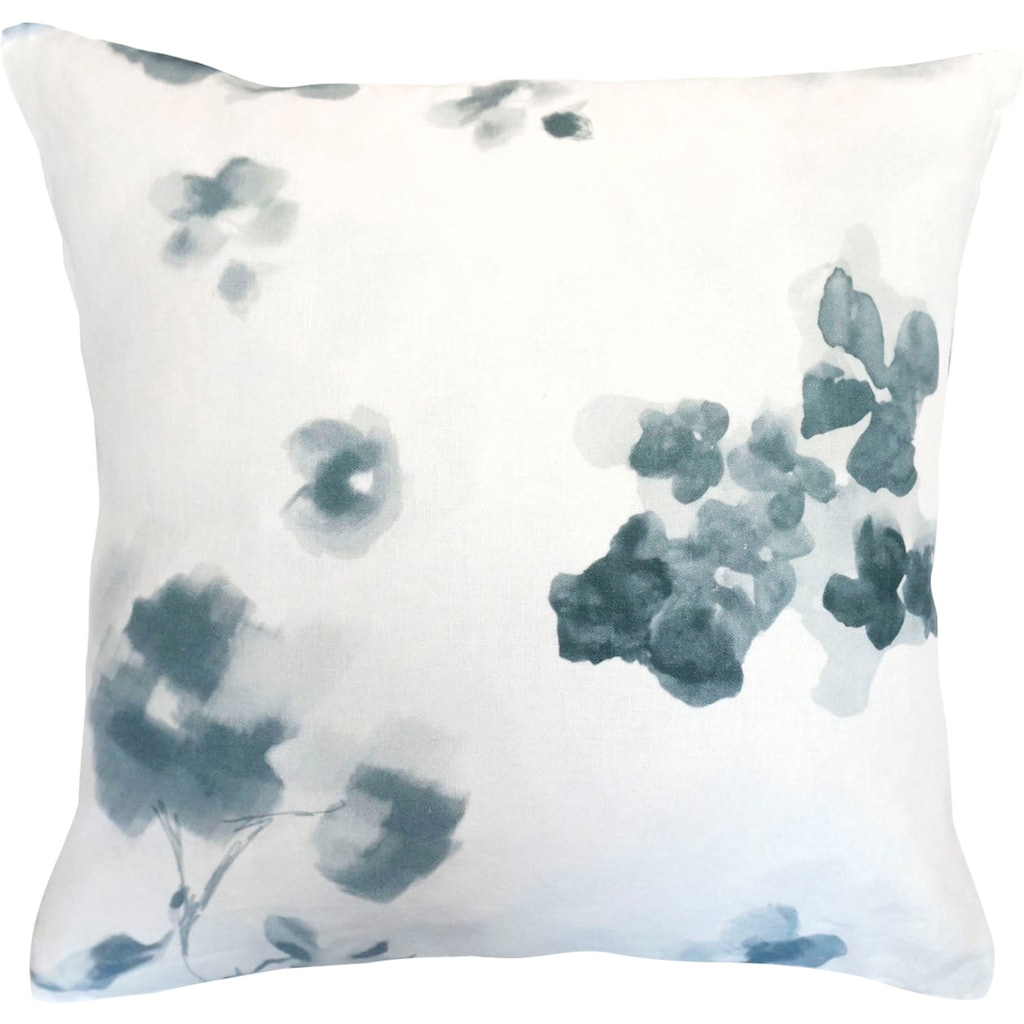 fleuresse Kissenbezüge »Provence Cassis«, (2 St.), Aquarellblüten