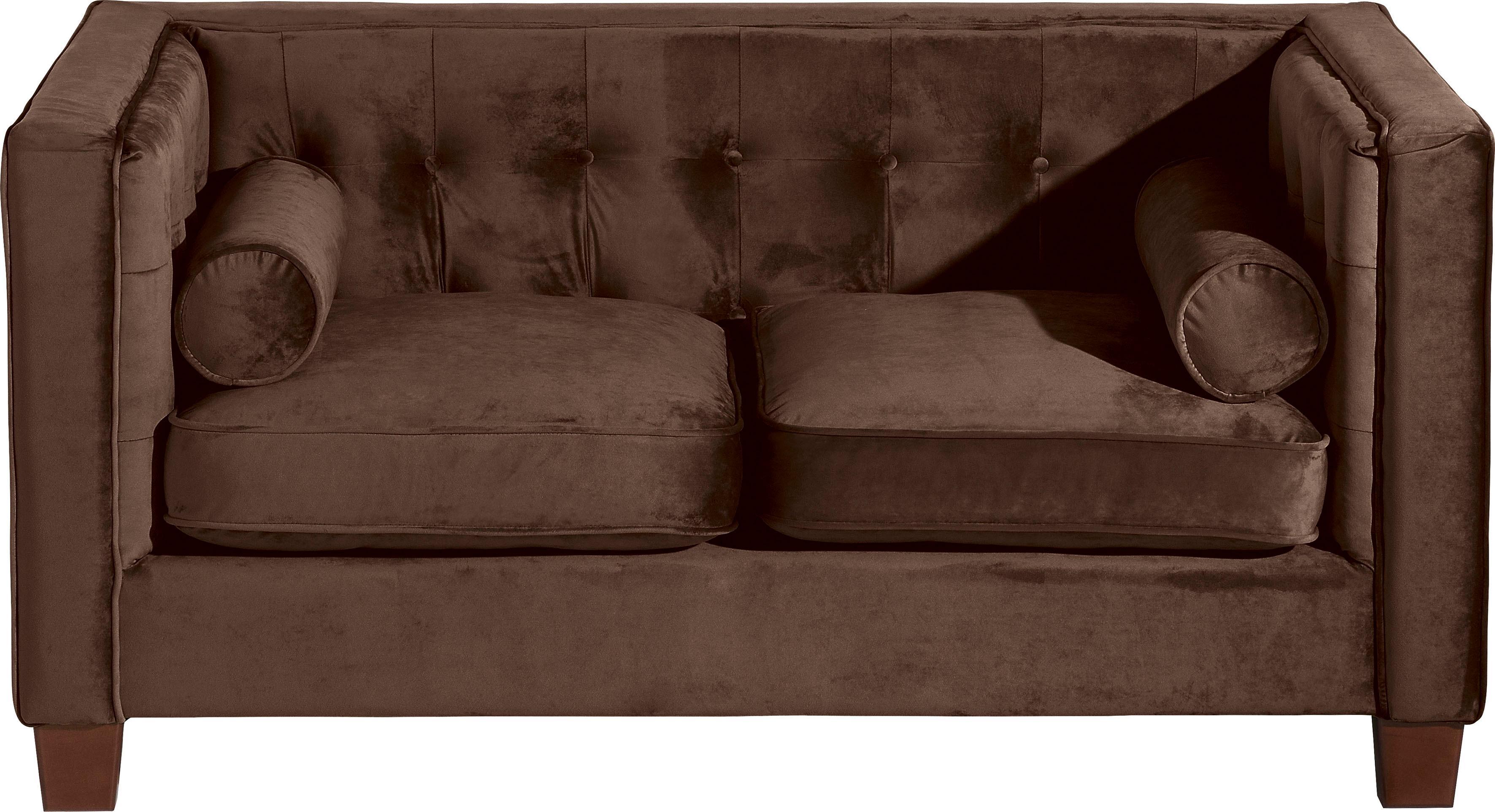 Max Winzer 2-Sitzer Sofa Jobbi mit Steppung im Rücken inklusive 2 Kissenrollen Breite 154 cm