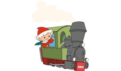 Wall-Art Wandtattoo »Sandmann Aufkleber Lokomotive« kaufen