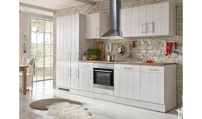 RESPEKTA Küchenzeile »Ulm«, mit E-Geräten, Breite 310 cm kaufen