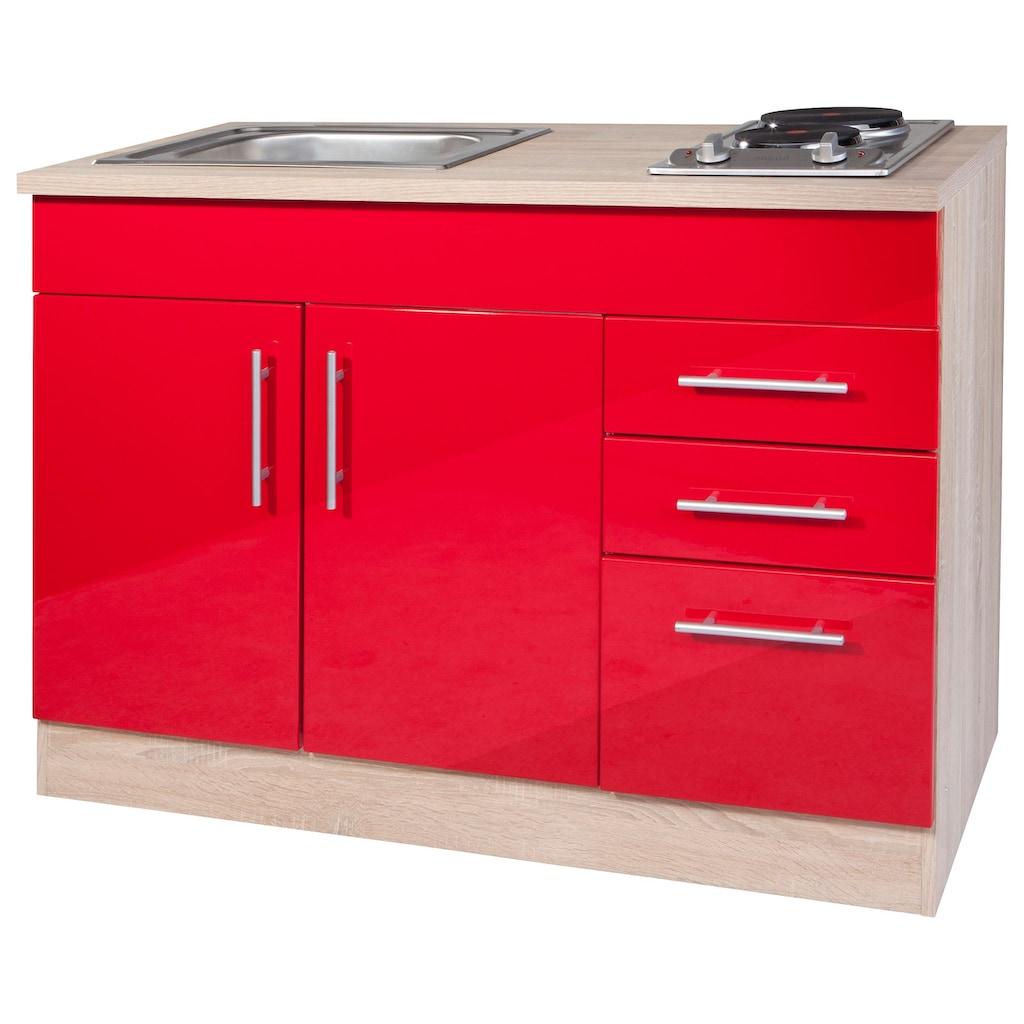 HELD MÖBEL Küchenzeile »Toledo«, mit E-Geräten, Breite 160 cm