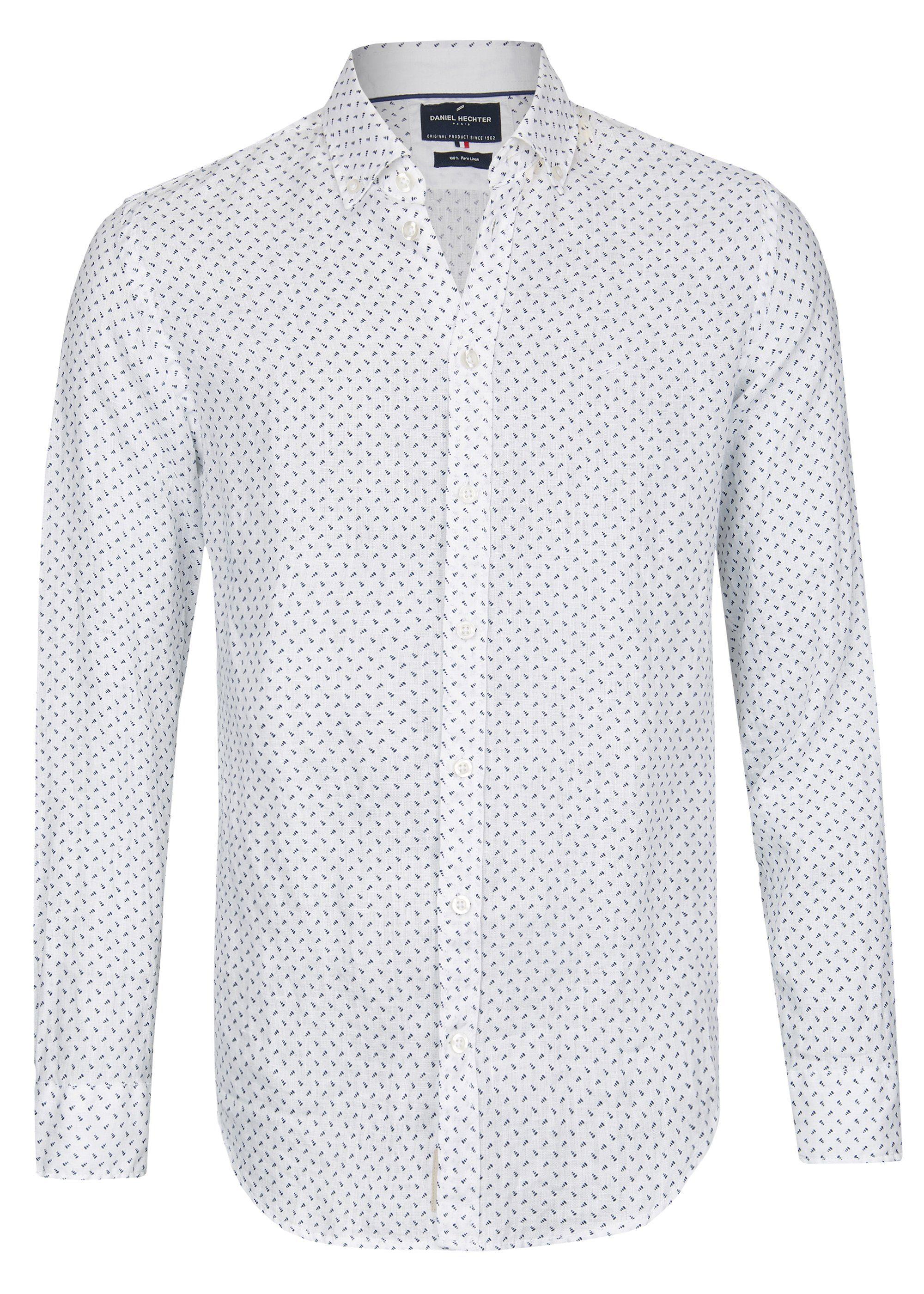 Daniel Hechter Leinen Casual Hemd