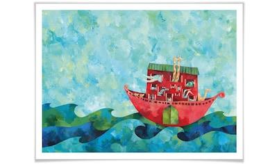 Wall-Art Poster »Märchen Wandbilder Die Arche Noah«, Geschichten & Märchen, (1 St.),... kaufen