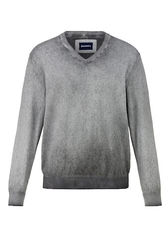 Babista V-Ausschnitt-Pullover, in Used-Optik kaufen
