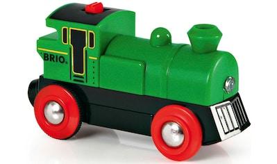 BRIO® Spielzeug-Eisenbahn »BRIO® WORLD Speedy Green Batterielok«, mit... kaufen
