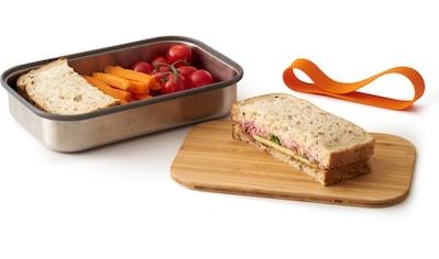 black+blum Lunchbox, (3 tlg.), inkl. Bambusdeckel kaufen