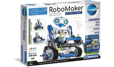 Clementoni® Modellbausatz »Galileo - RoboMaker Starter«, mit kostenloser App; Made in... kaufen