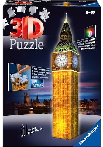 """Ravensburger 3D - Puzzle """"Big Ben bei Nacht"""" kaufen"""