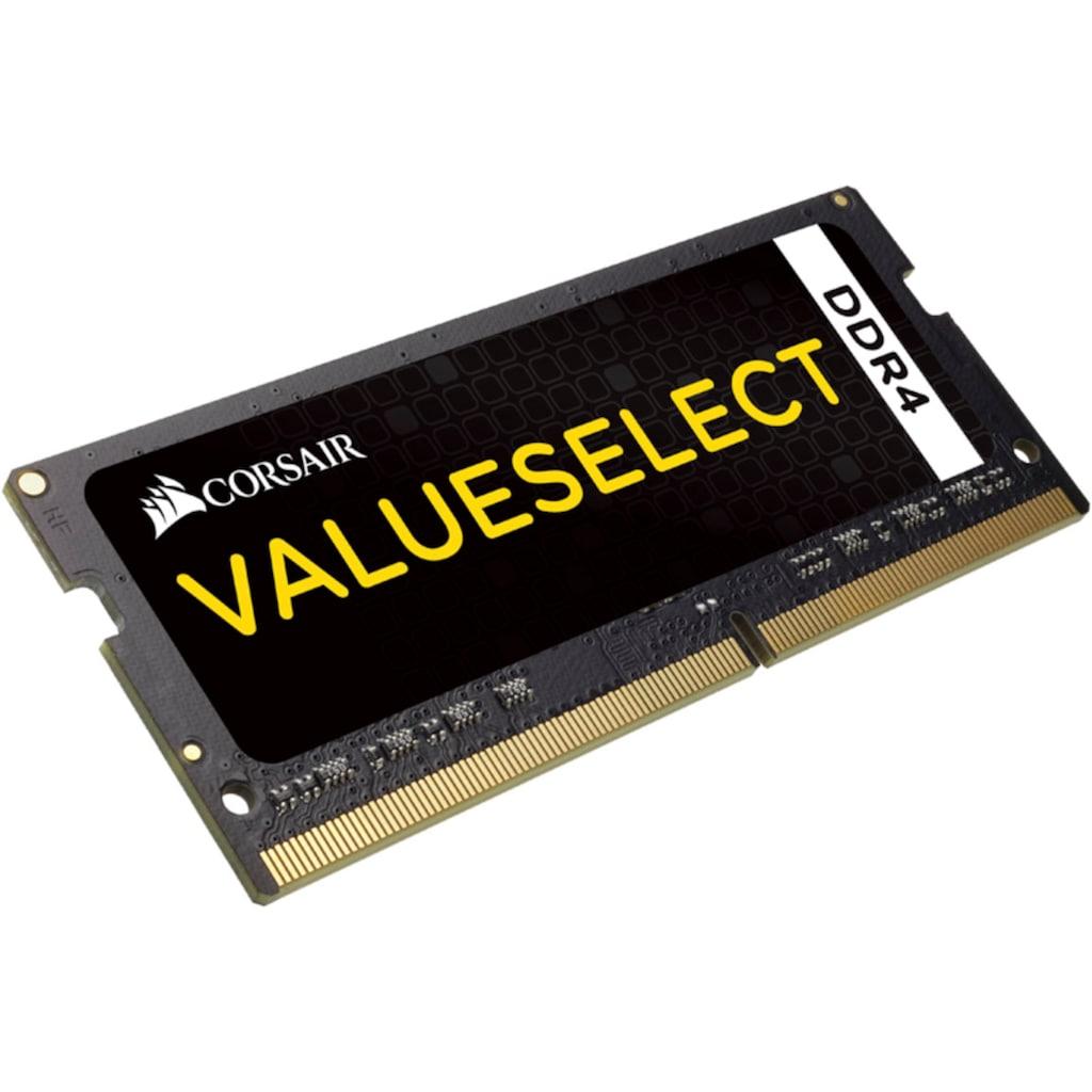 Corsair Laptop-Arbeitsspeicher »ValueSelect 16 GB (2 x 8 GB) DDR4 SODIMM 2133 MHz C15«