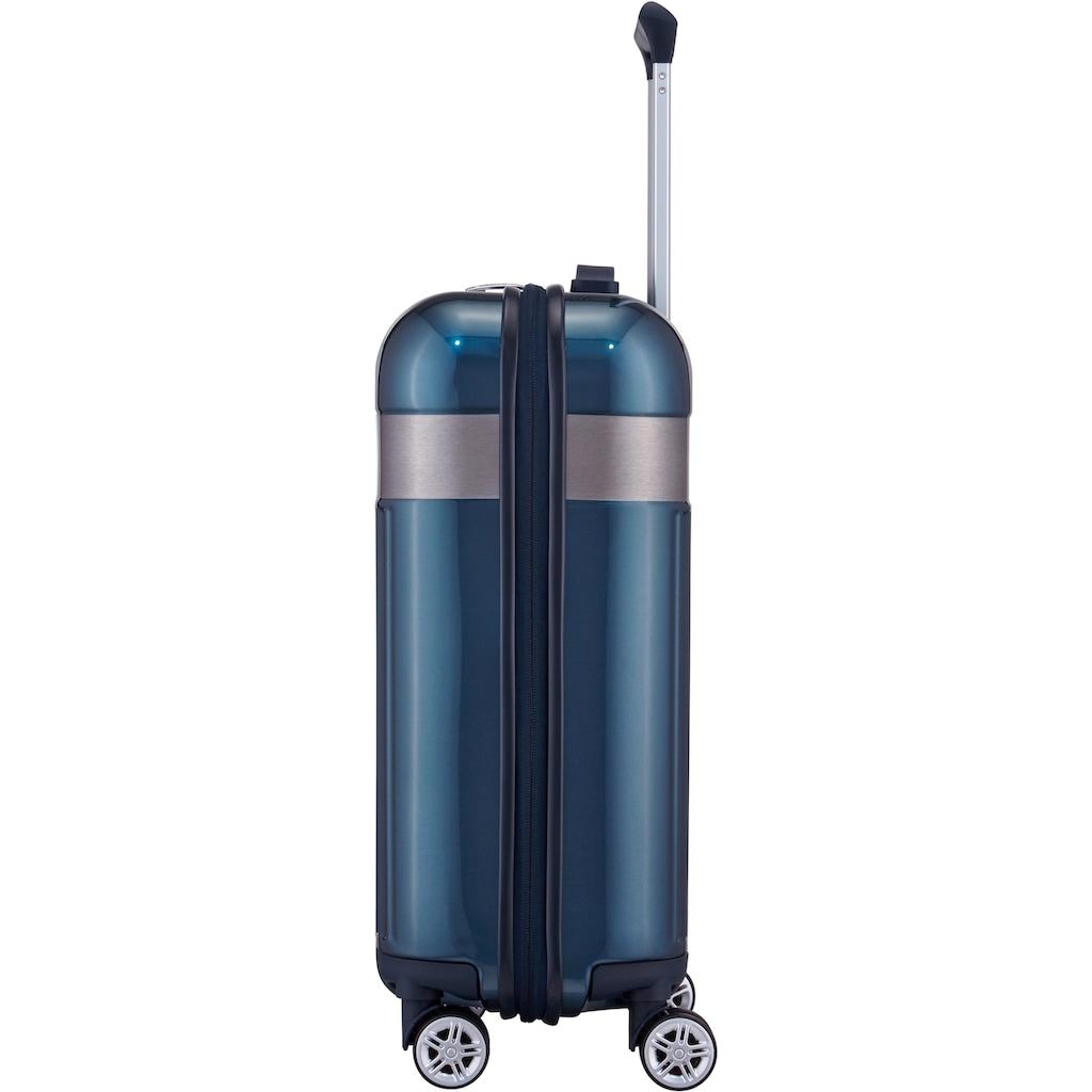 TITAN® Hartschalen-Trolley »Spotlight Flash, North Sea, 55 cm«, 4 Rollen