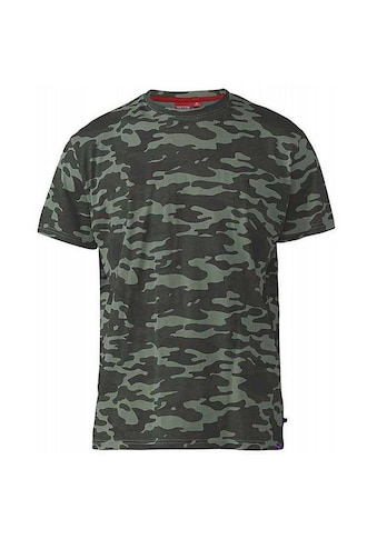Duke Clothing T - Shirt »Herren Gaston mit Tarnmuster, Kingsize« kaufen